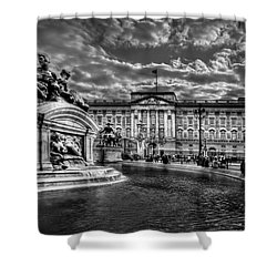Hail To Majesty Shower Curtain by Evelina Kremsdorf
