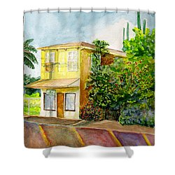 Hairbenders Of Paia Shower Curtain