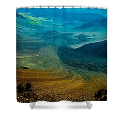 Shower Curtain featuring the photograph Haleakala by M G Whittingham