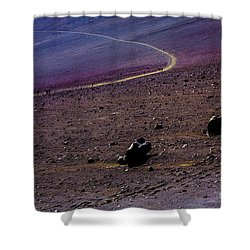 Shower Curtain featuring the photograph Haleakala 2 by M G Whittingham