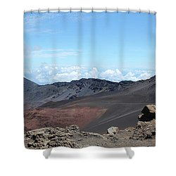 A Sleeping Giant Shower Curtain