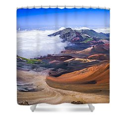 Haleakala Craters Maui Shower Curtain