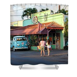 Hale'iwa Shops Shower Curtain