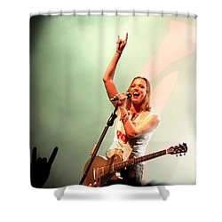 Halestorm Lzzy Hale Shower Curtain