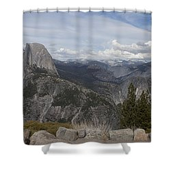 Shower Curtain featuring the photograph Half Dome by Ivete Basso Photography