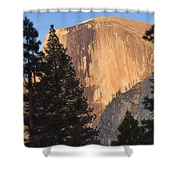 Half Dome Sunset Shower Curtain
