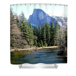 Half Dome Shower Curtain