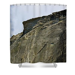 Half Dome With A View Of The Visor  Shower Curtain