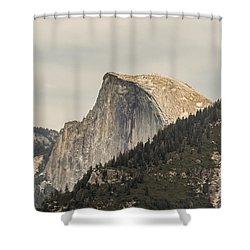 Half Dome Yosemite Valley Yosemite National Park Shower Curtain