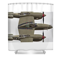 Half Past Midnight Shower Curtain