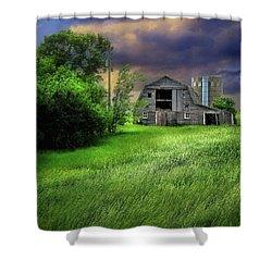 Half Silo Shower Curtain