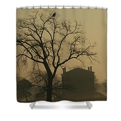 Halfway House And Eagle Shower Curtain