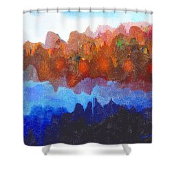Haliburton Highlands Shower Curtain