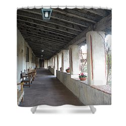 Hall Way Shower Curtain