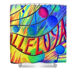 Halleluyah Shower Curtain