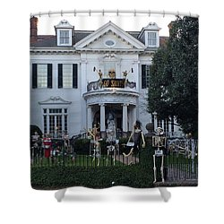 Halloween Decor New Orleans Style Shower Curtain