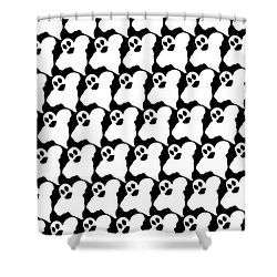 Halloween Ghosts Shower Curtain
