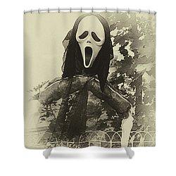 Halloween No 1 - The Scream  Shower Curtain