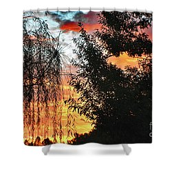 Halloween Sunrise 2015 Shower Curtain