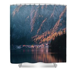 Hallstatt Fall Shower Curtain