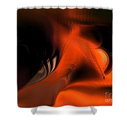Hallucinogenic Element Shower Curtain