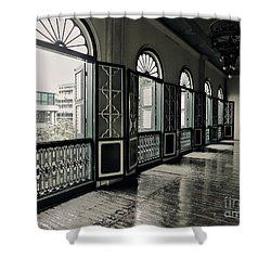 Hallway Shower Curtain by Charuhas Images