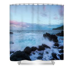 Shower Curtain featuring the photograph Hamakua Sunset by Ryan Manuel