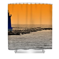 Hamels Shower Curtain