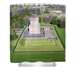 Hamilton's Knob 2 Shower Curtain by Steev Stamford