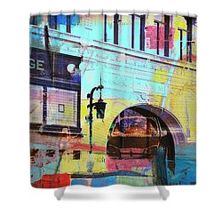 Shower Curtain featuring the photograph Hamm Building St. Paul by Susan Stone