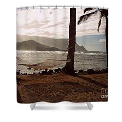 Hammock Shadow Shower Curtain