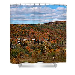 Hammondsport Panorama Shower Curtain