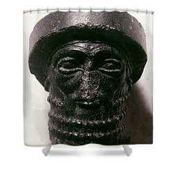Hammurabi (d. 1750 B.c.) Shower Curtain by Granger
