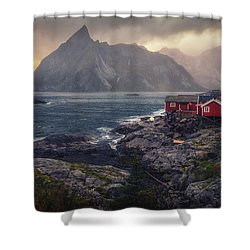 Hamnoy Shower Curtain