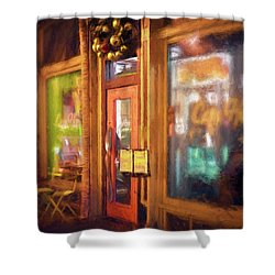 Hampden Cafe Shower Curtain
