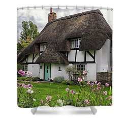 Hampshire Thatched Cottages 8 Shower Curtain