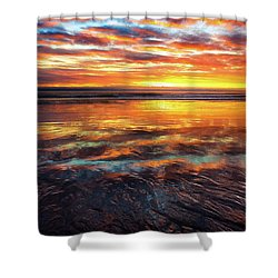 Shower Curtain featuring the photograph Hampton Beach by Robert Clifford