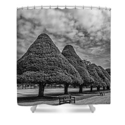 Hampton Palace Gardens Shower Curtain by Elvira Butler