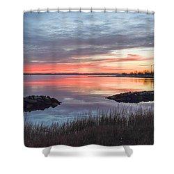 Hampton Sunrise Shower Curtain