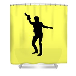 Han Solo Star Wars Tee Shower Curtain