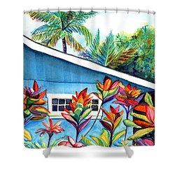 Hanalei Cottage Shower Curtain