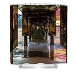 Hanalei Pier Shower Curtain