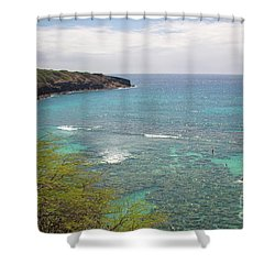 Hanauma Bay 2 Shower Curtain