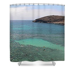 Hanauma Bay Shower Curtain