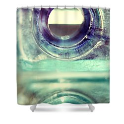 Shower Curtain featuring the photograph Inkwells by Amy Tyler