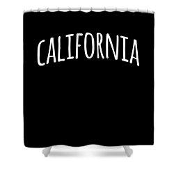 Hand California Shower Curtain