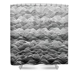 Hand Made Paper Shower Curtain by Jim Hughes