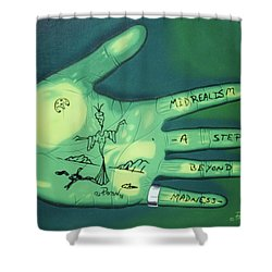 Hand Print Shower Curtain