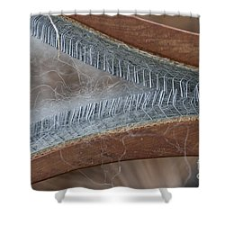 Hand Woolcarder Shower Curtain