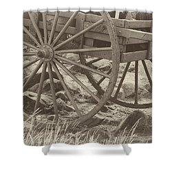 Handcart Shower Curtain